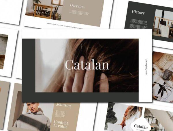 Catalan - PowerPoint Template